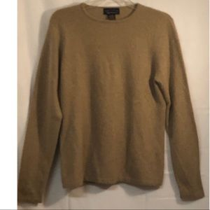 100% Cashmere Charter Club 2 Ply Sweater Sz M